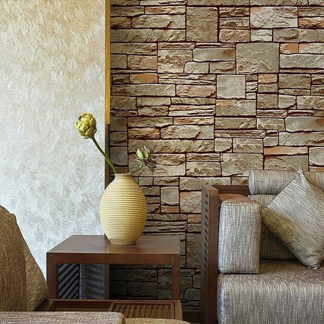 Buy hot sale bricks patten for tv for Room wallpaper for sale