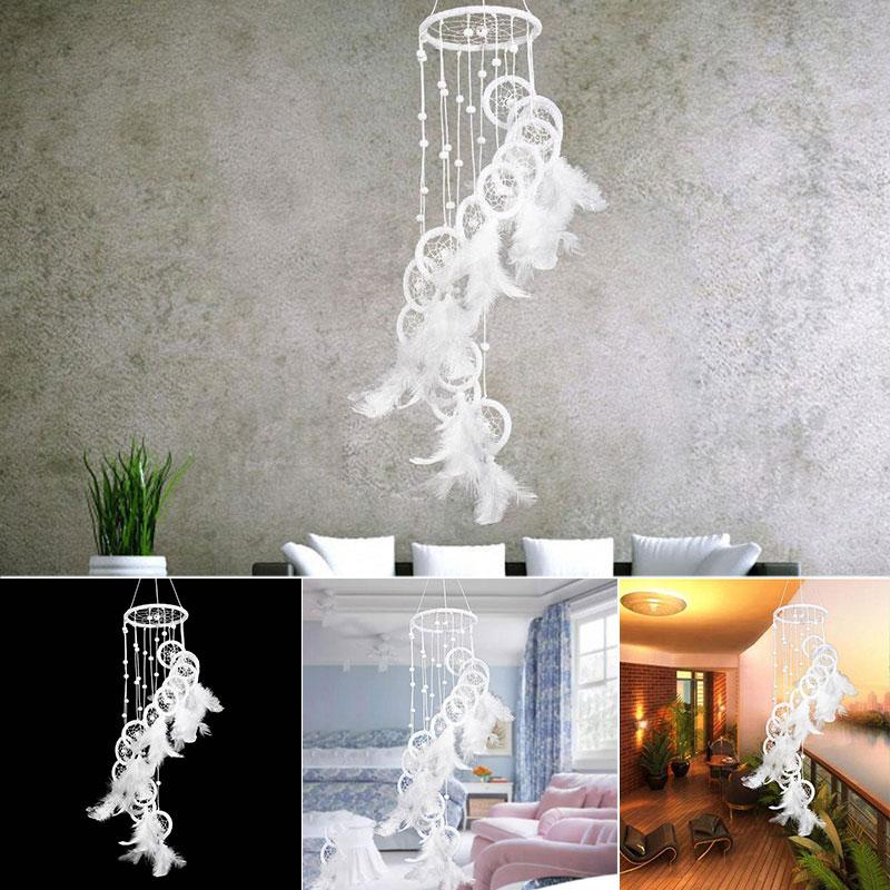 Ручной работы s-образный бисер покрытием Ловец снов «Музыка Ветра» украшение орнамент
