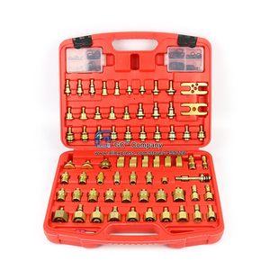Image 1 - Universal Asien Auto Leck Detektor Stecker Adapter Set A/C Reparatur Werkzeug für A/C Klimaanlage Kältemittel system