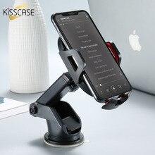 Kisscase автомобильный держатель телефона для iPhone XR XS Max 6 6 S плюс антигравитации Air Vent держатель телефона клип телефон Подставка для Xiaomi A2 Lite Redmi Note 6 Pro 5 Поко F1 чехол на Huawei P20 Lite Mate 20