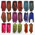 Caliente! 11 estilos nueva doble lado de la mariposa mujeres de cachemira de Pashmina mantones / bufandas de la bufanda del abrigo