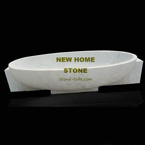 Corner Soaking Bathtub White Marble Rectangular Natural Stone Bathroom Tub  Customize Oval Simple Shape Designer Baths