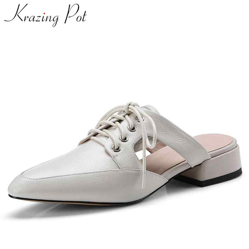 ae7d883a637 krazing-pot-cow-leather-British-style-hollywood-narrow-band-low-bottom-mules-pointed-toe- sandals-summer.jpg
