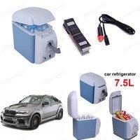 מכירה חמה 12 v מקפיא מכונית 7.5l מקרר מקרר מכונית מקרר מכונית מקרר מכונית
