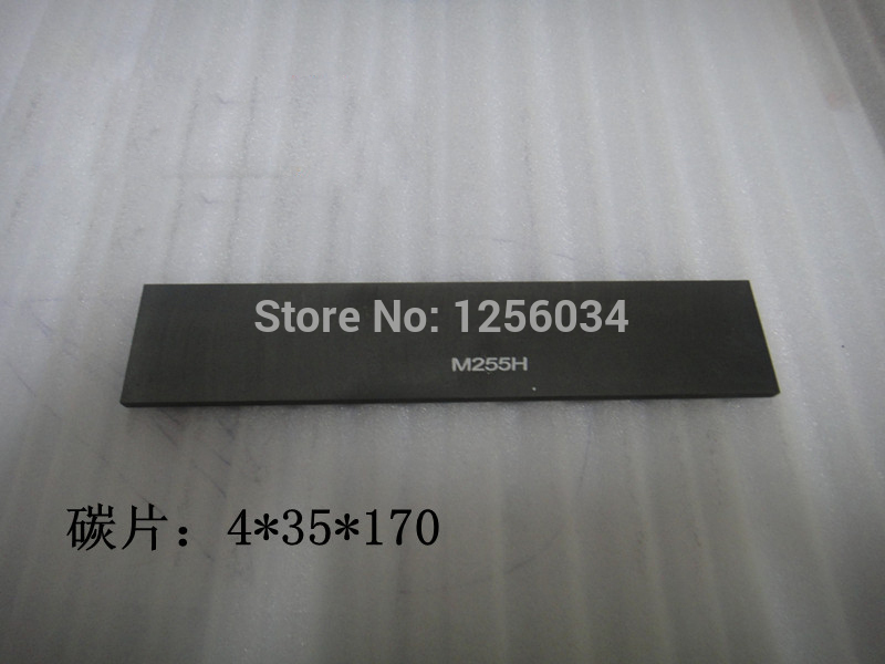 10 pieces high quality carbon vane for hengoucn pump Graphite rotor 4 35 170 offset printing