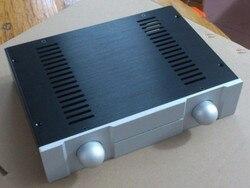 BZ3207P Silver front Full Aluminum DAC Enclosure / big AMP case/ Preamp box/ PSU chassis