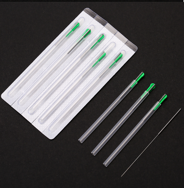 zhongyantaihe Sterile acupuncture needle disposable tube needle one needle with one guide tube beauty massage