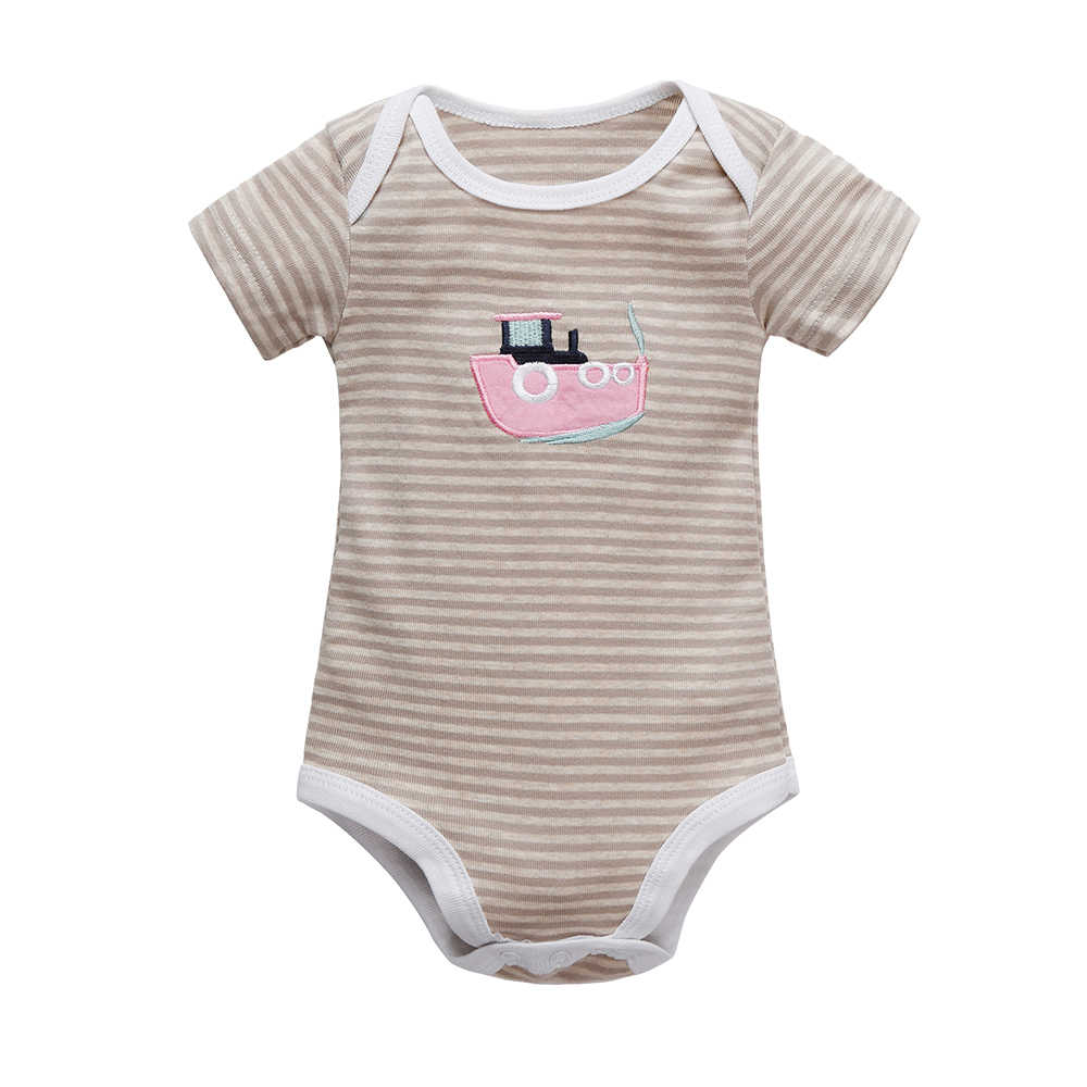 Baby Clothing Short Sleeve Cotton Romper Children O-neck Body for 0-24M Babies Clothing Baby Girl Clothes Children's Bodie