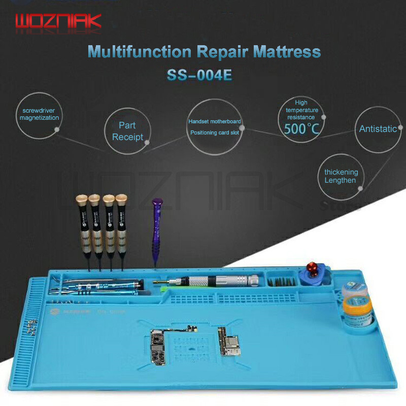 Big For iPhone x 8 7 6 mobile phone maintenance CHIP Motherboard fixture cushion Multi-function Maintenance pad