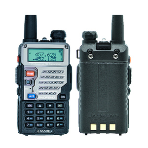 Image 4 - Baofeng UV 5RE Walkie Talkie UHF VHF CB Radio Station 128CH Zwei Weg Radio UV 5R Verbesserte UV 5RE Tragbare Ham Radio für Jagd