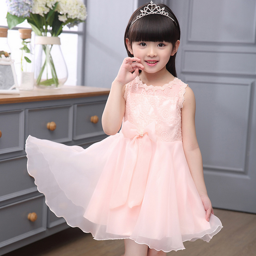flower girl dress for party and wedding summer girls dresses lace evening toddler kids clothes birthday new fashion 5~14 year 2017 new dress flower baby girl lace dresses birthday party wedding ceremonious toddler girls clothes girl tutu dress for kids