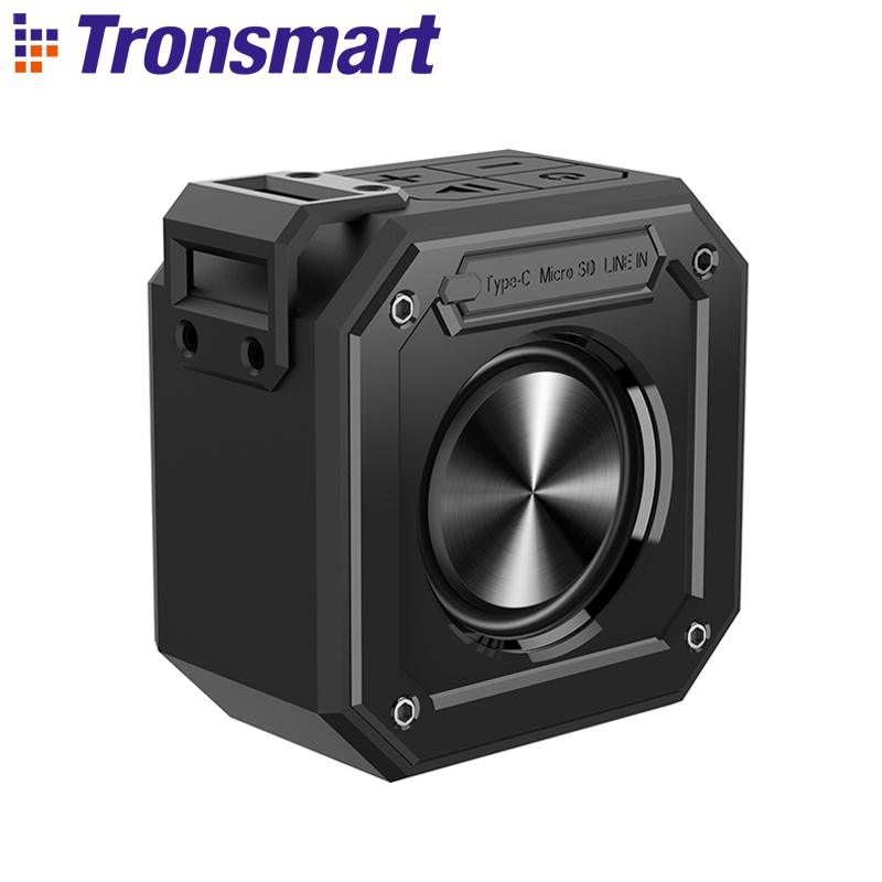 Tronsmart Element Groove Bluetooth Speaker 10W Bluetooth Column IPX7 Portable Speakers with 24-Hour Playtime for the computer international edit tronsmart element groove bluetooth speaker column ipx7 waterproof soundbar portable speakers for the computer