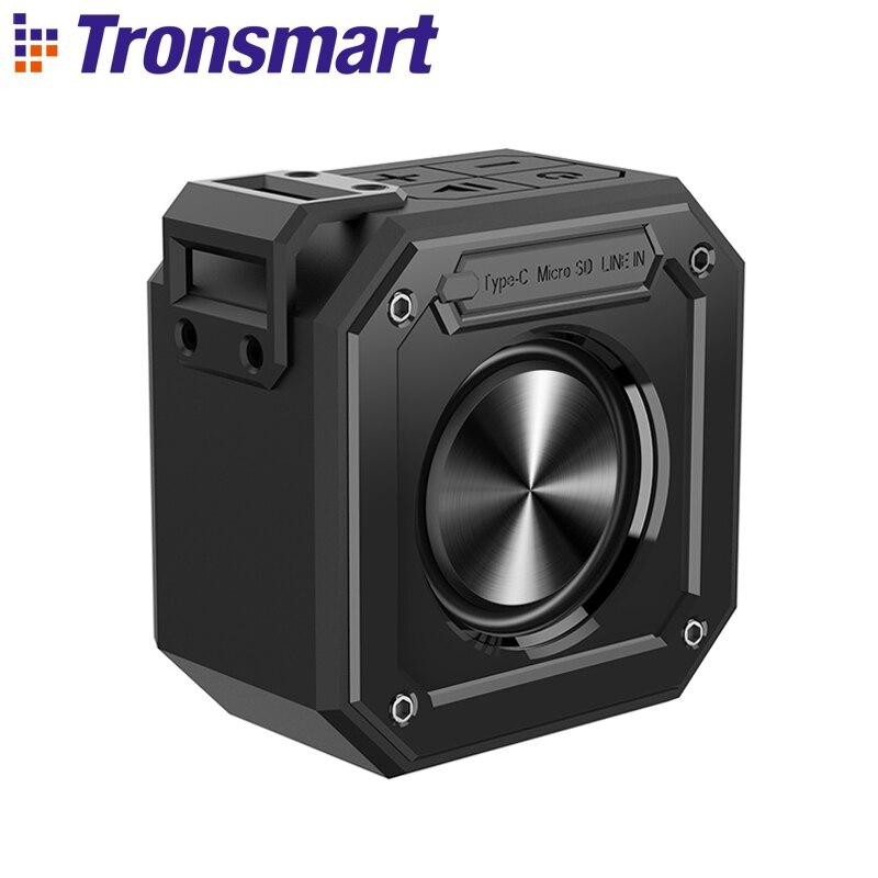 Tronsmart Elemento Sulco (Força Mini) IPX7 10W Coluna Bluetooth Speaker Bluetooth Alto-falantes Portáteis com 24H Playtime