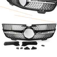 Car Diamond Front Grille Upper ABS Grill For Mercedes Benz GL Class X164 GL450 2007 2012/ GL350 2010 2012/ GL320 2007 2008 2009