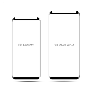 For Samsung Galaxy S9 Plus Note 8 S8 Plus Screen Protector 9H 3D Half Curved Protective Film Glass Case Friendly Tempered Glass image