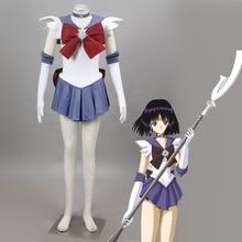 Athemis Anime marin lune marin saturne Cosplay Costume sur mesure robe de haute qualité