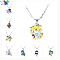 8-style-pokemon-go-choker-necklace-anime-cartoon-bead-chain-alloy-pendant-cute-gift-for-child-fans-charms-jewelry-drop-shipping