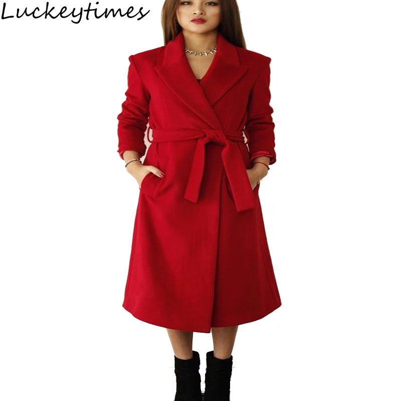 Online Get Cheap Womens Red Wool Coat -Aliexpress.com | Alibaba Group