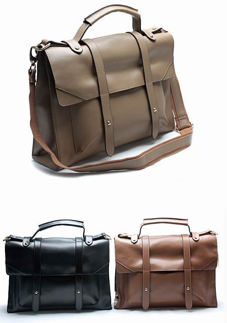 Western Brand Fashion Women S Briefcase Motorcycle Bag Attache Case Handbag Leather Business