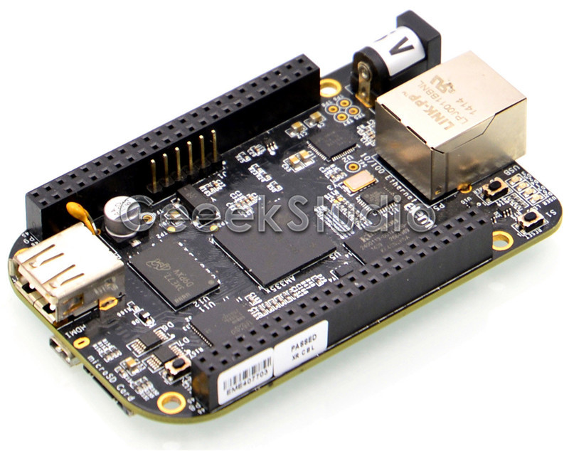 BeagleBone Black BB-Black Rev C 4GB 512MB AM335x Cortex-A8 Single Board Development Platform turbosound nuq82 black