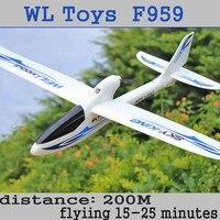 Wltoys F959 모델 항공기 Epo Rc 비행기 75 센치메터 전문 드론 3ch Rc