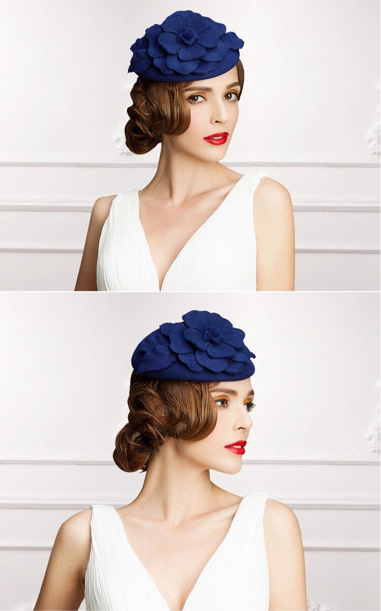 1_wool felt hat woman