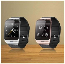 Hot sale Smartwatch Gv18 Health Pedometer Mp3 Waterproof Bluetooth Wearable Device With SIM Card Mobile GSM