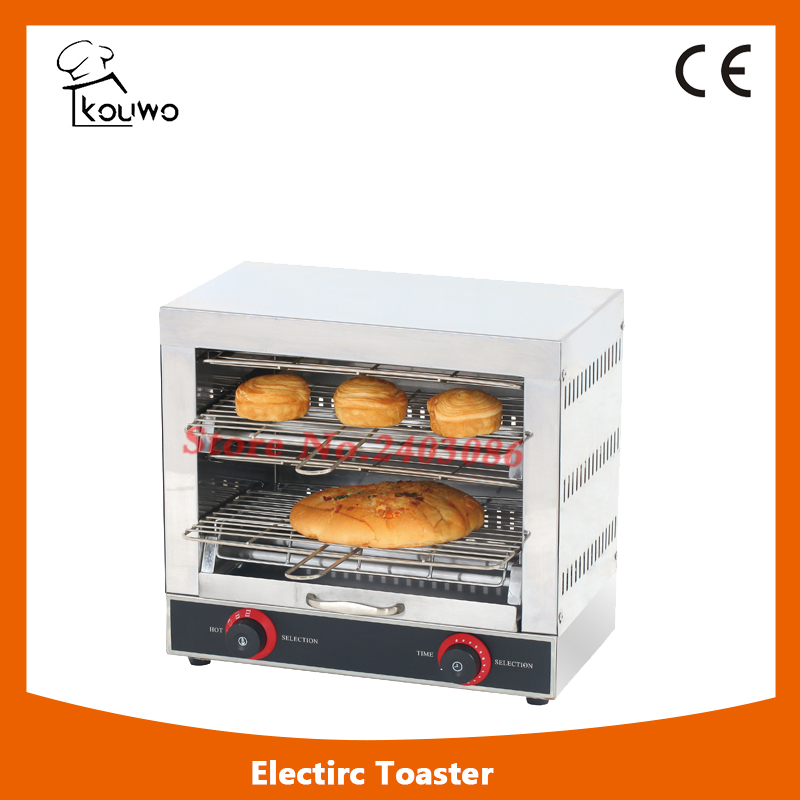 Commercial kitchen equipment Automatic Electric Stainless Steel Bread Toaster for Baking Machine new automatic stainless steel commercial vegetable