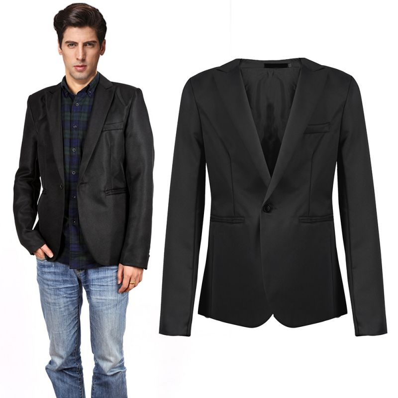 Grey Suit Jacket Promotion-Shop for Promotional Grey Suit Jacket ...