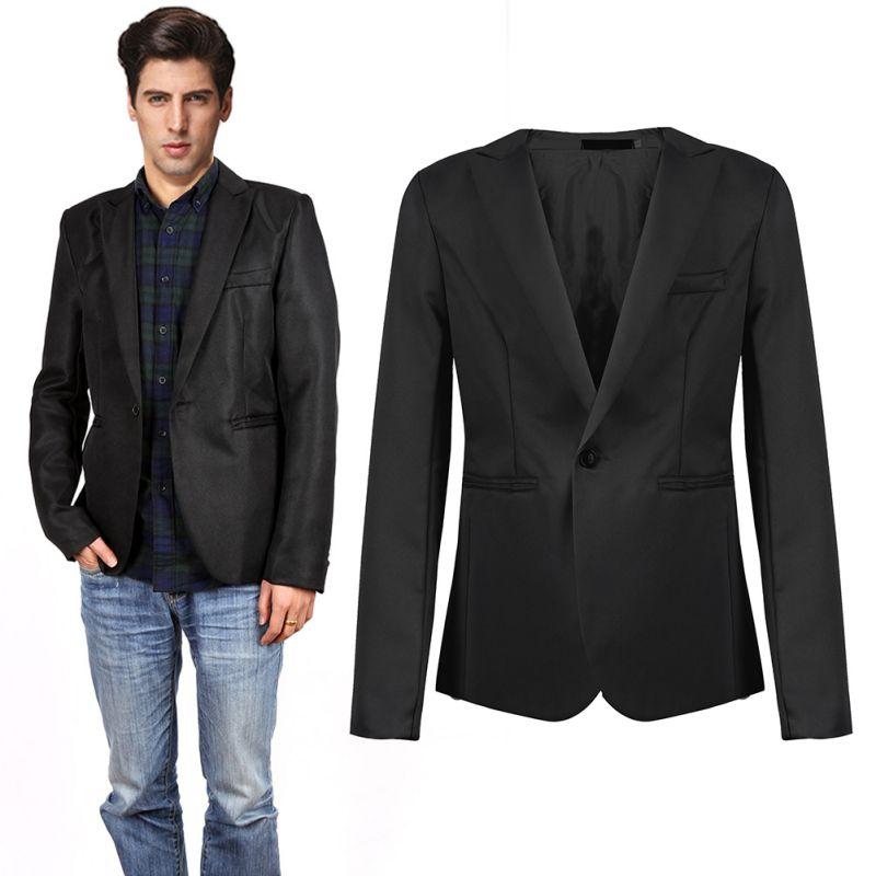 Grey Suit Jacket Promotion-Shop for Promotional Grey Suit Jacket ...