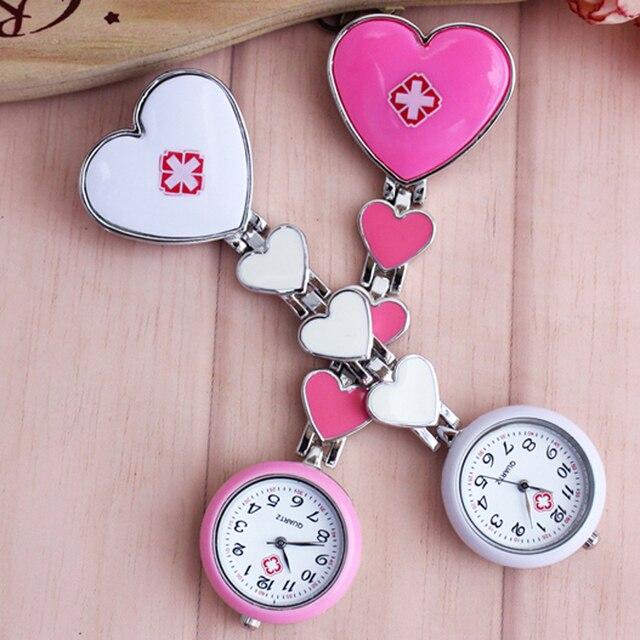 chaoyada High quality Brand New Fashion Doctor Watch Fob Heart Nurse Brooch Pin