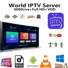 IPTV Subscription Europe Germany Dutch UK Sweden French Poland Spain USA Arabic Indian Albania Australia android Smart IPTV m3u цена 2017