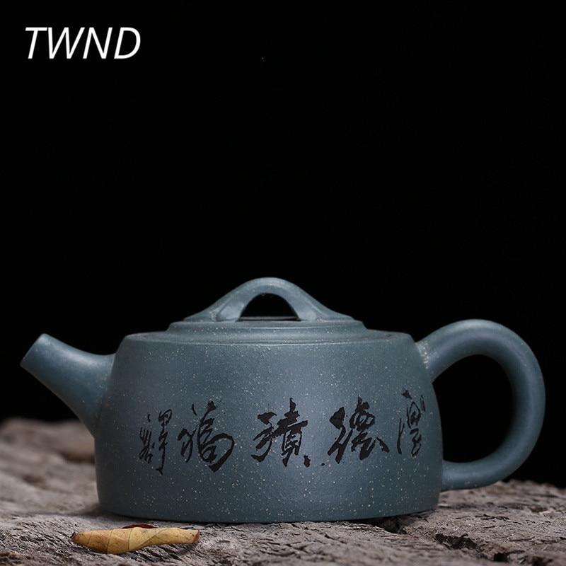 150CC purple clay yixing teapot chinese kung fu jin lan pot zisha kettle with gift box suit Tie Guanyin black tea drinkware 19.3