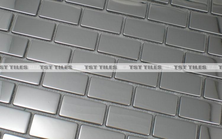 Metro baksteen mozaïektegels zilver rvs keuken backsplash tegel badkamer spiegel muursticker decoratieve haard tegel.jpg