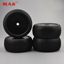 1/8 Racing Car Tire Truck Tyres for  Bigfoot Monster Truck Traxxas HSP HPI RC Model Car Part& Accessories lesu cnc metal chassis rail for 1 14 model rc hino 8 8 hydraulic dumper truck
