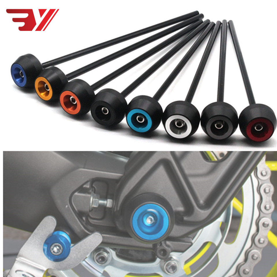 For BMW C650GT  C650 GT C 650GT 2012-2015 CNC Modified Accessories Motorcycle Front Axle Protection Drop Ball / Shock Absorber