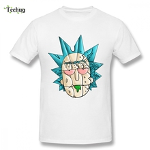Pickle Rick And Morty Short Sleeve Anime Male Geek Summer Graphic Tee For