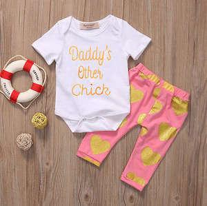 pudcoco Set Baby Girl Newborn Clothes 2PCS Pant Outfits efe66460c