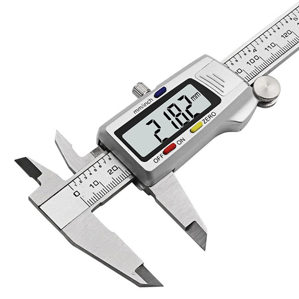ANENG hardware tools Digital Stainless Steel Ruler Electronic Vernier Caliper 0-150mm High Precision 0.01mm MM&Inch Convertible