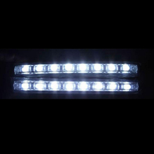 Safego 2 шт. Универсальная Автомобильная DRL Габаритные огни Водонепроницаемый 8 СИД DRL Дневной свет комплект Super White 12 В DC фара