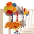Cama de Música Do Bebê de alta Qualidade E Acessórios de Carrinho Carrinho de criança Animal Bonito Com Pingente de Flor
