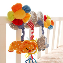 Stroller-Accessories Cart Baby High-Quality Cute And with Flower-Pendant Music-Bed Animal
