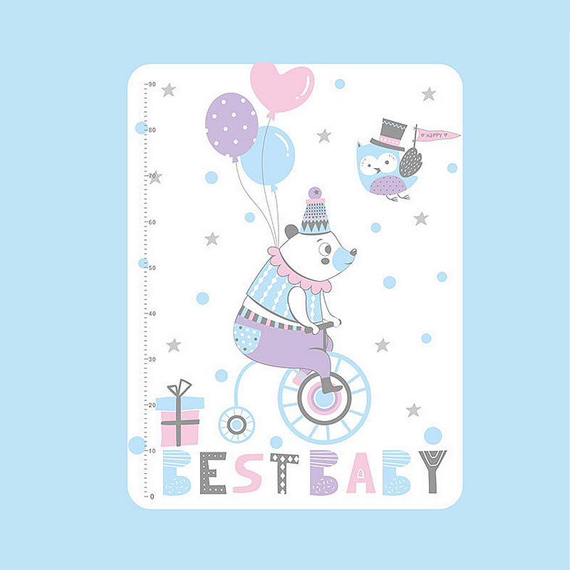 Baby Bedding Mattresses Ideacherry 60*75cm Baby Cotton Diapers Mattress Cartoon Waterproof Changing Mat Baby Cushion Reusable Diaper Washable Urine Pad