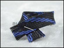Нейлоновый рукав 5 м 16 мм черный и синий нейлоновый сетчатый