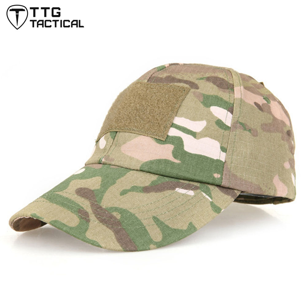 TTGTACTICAL Mens Outdoor Hiking Hats Camouflage Fishing ...
