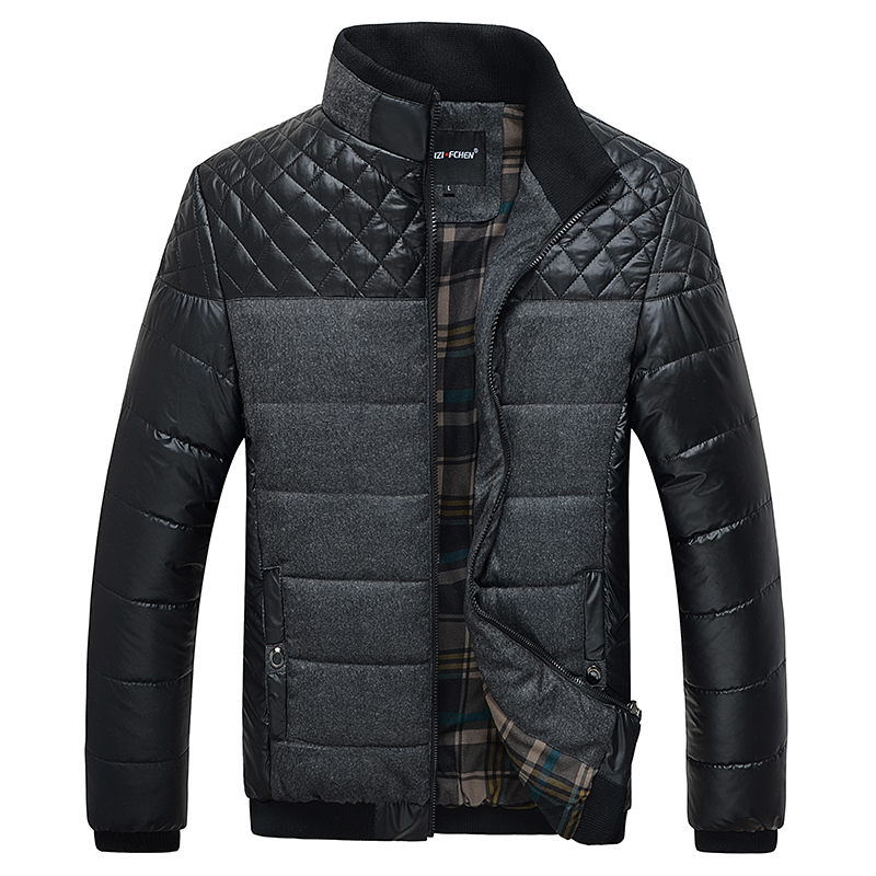 Neue Ankunft Casual Männer Winterjacken Hohe Qualität Slim Fit Mens Brand Kleidung Oberbekleidung Hai Männer Warm Jacket
