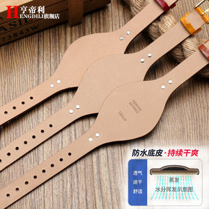Image 3 - First layer calfskin strap for Fossil ES3616 ES3838 ES4114 womens series 18mm genuine leather watchband Quick release