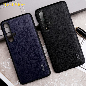 Image 4 - MOFi for Honor 9X Case 9X Pro Cover for Huawei Honor 9X Back Housing Honor9x Coque TPU PU Leather Soft Silicone Full