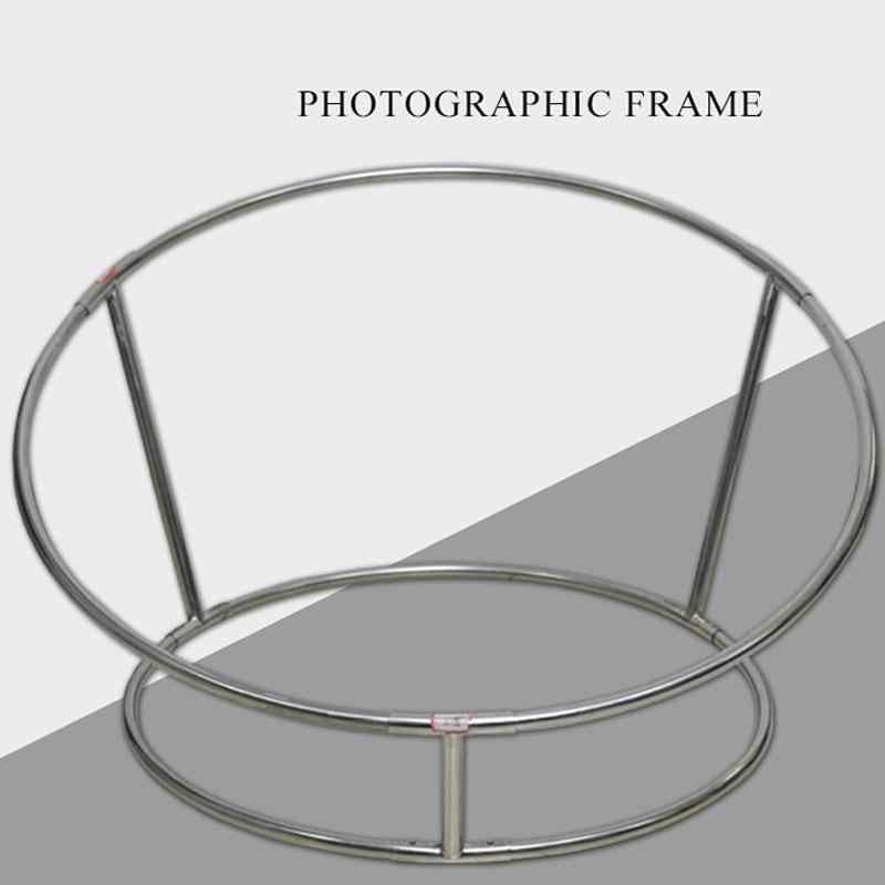 89 cm altura recién nacido posando Beanbag marco Poser Studio fondos Bebe fotografía soporte foto accesorios acero redondo tubo estante