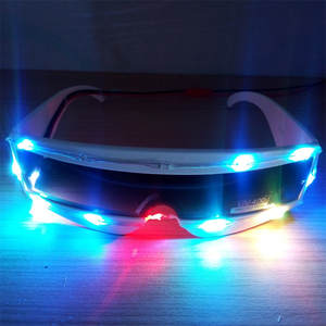 8c93b2ab581 Colorful Luminous LED Lighting Up Halloween DJ Glasses